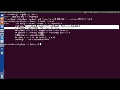 How to configure Network Files in Ubuntu