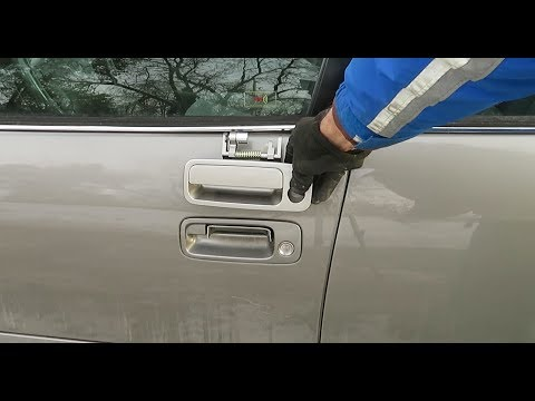 How to Replace a Driver's Door handle '97-'01 Toyota Camry