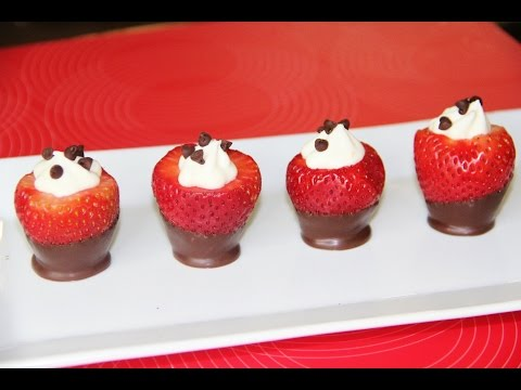 Party Strawberry Cups Video Recipe by Bhavna⭐️⭐️⭐️⭐️⭐️