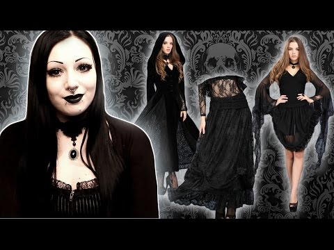 Mini Goth Clothing Haul with Dark in Love | Toxic Tears