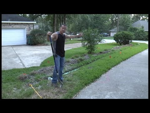 Easy DIY Sub Surface Lawn Drain Part 2