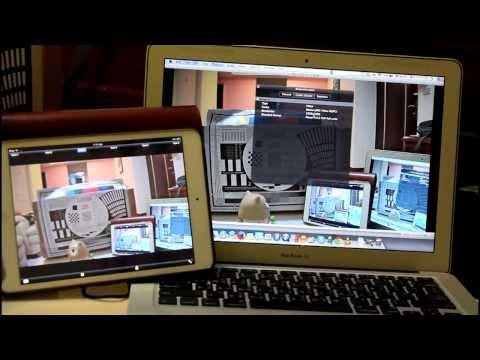 Full HD 1080p 3G-SDI (HD-SDI SDI)  Wireless Video server diaplay on iPad & MAC