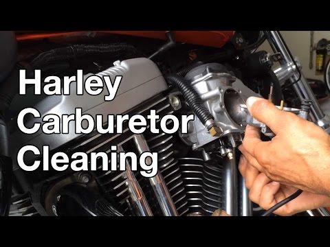 How To: Harley Davidson Sportster Carburetor Cleaning
