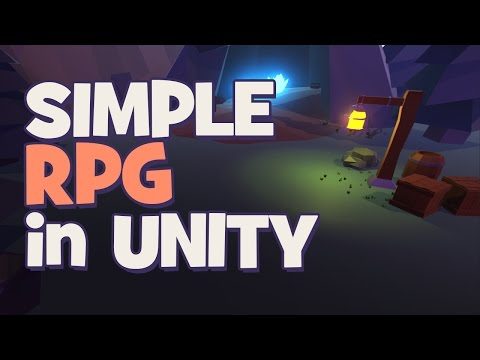 Making a Simple RPG - Unity 5 Tutorial