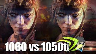 GTX 1050 Ti vs 1060 6GB \ Comparison with 15 Games \