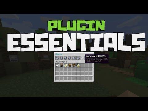 Minecraft Plugin Tutorial Essentials Warp GUI - MENÚ DE WARPS EN MINECRAFT