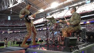 Mobility Rock Band Live At The AZ Cardinals Multicam USAF Band Of The Golden West