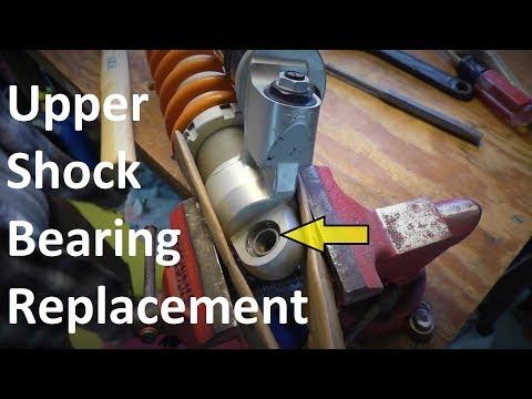 KTM Upper Shock Bearing Replacement