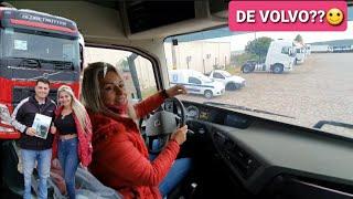 VOU COMPRAR UM VOLVO FH🙌🙌🙌 #sheilabellaver #caminhoneira #caminhãorosa