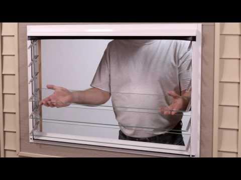 Jalousie Window Installation