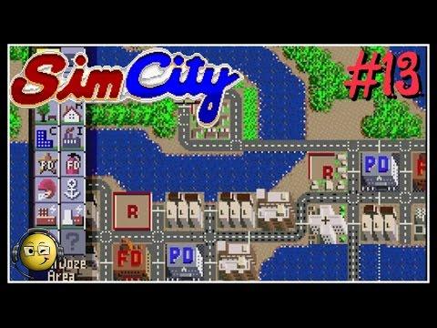 Let's Play Sim City (SNES) Part 13: Scenario-Bern Traffic 1965