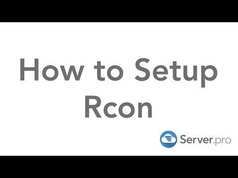 How to Setup Rcon on Your Minecraft Server - Server.pro (Premium)