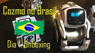 Cozmo no Brasil | Dia 1: Unboxing #cozmoments
