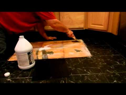 How to Replace Self Stick Floor Tiles