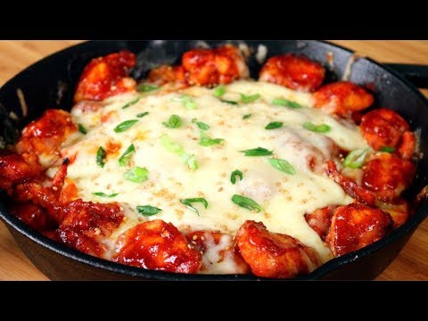 Spicy Fire Chicken with Cheese | Cheese Buldak | Korean Spicy Stir Fry Chicken and Cheese | 치즈불닭