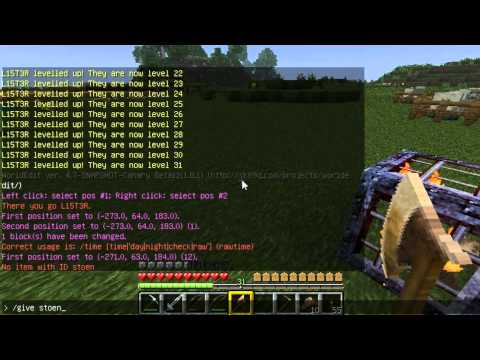 How to use WorldEdit on Minecraft Servers to Make Specific Mob Spawners