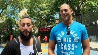 "The Certified Gs return to ""The Cage"", where they first met: Enzo & Cass"
