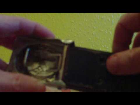 HOW A WW2 GERMAN BUCKLE ATTATCHES TO LEATHER BELT
