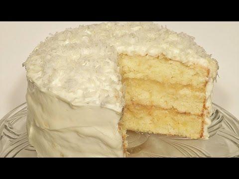 How to Make Pina Colada Cake