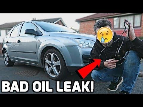 Focus Has An Oil Leak!