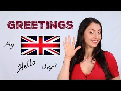 GREETINGS - Back to Basics / English Lessons / Learn British English
