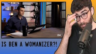BEN SHAPIRO Giving Dating and Relationship Advice to Fans | HasanAbi reacts