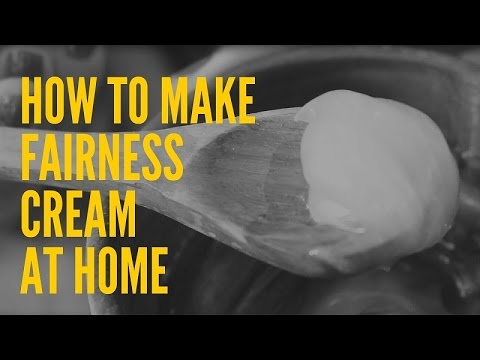 How To Make Fairness Cream At Home With Natural Ingredients |Tan removal Cream DIY