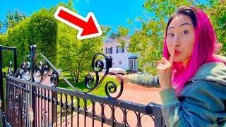 I SNUCK INTO THE NEW TEAM RAR HOUSE!! (Leaked footage)