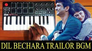 Dil Bechara Trailer Bgm | Ringtone By Raj Bharath | Sushant singh Rajput |A,R.Rahman