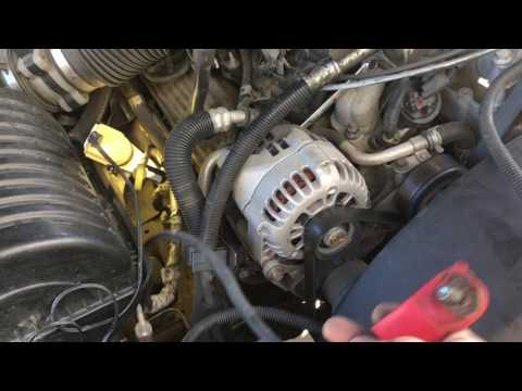 Replacing the Starter Cable 1999 Chevy Suburban K1500