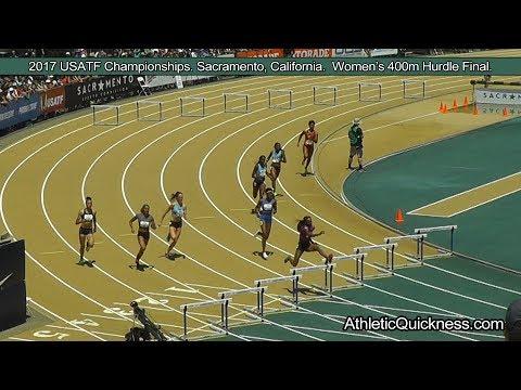 2017 USATF Championships, Sacramento, CA. Women's 400m Hurdle final