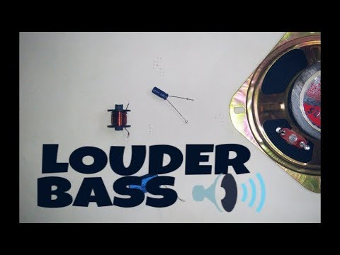 How to increase bass on Speakers & subwoofer Make speaker louder with high bass 2k Quality