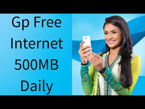 GP FREE NET Daily 500MB Free 2018
