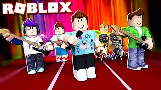 THE PALS FORM A MUSIC BAND IN ROBLOX!?