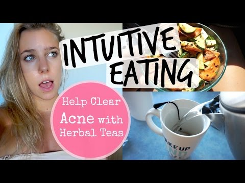 Full Day of Intuitive Eating: Favourite Tea for Clear Skin & Liver Detoxification