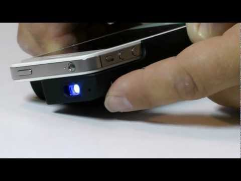 Pocket Projector for iPhone 4/4S
