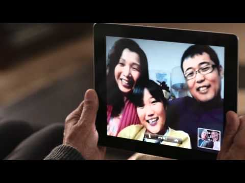 Apple iPad 2 Guided Tour - FaceTime 日本語