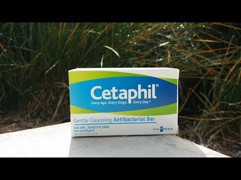 Cetaphil gentle cleansing antibacterial bar