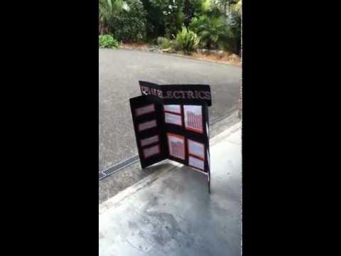 science fair project vs garage door