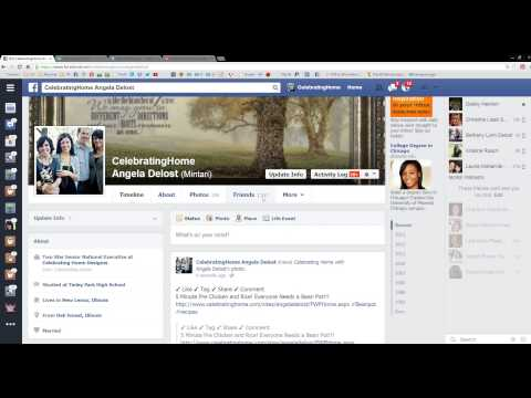 Pinterest Pinning and Facebook Posting training