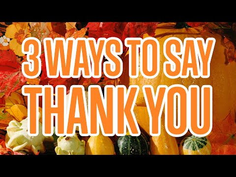3 Ways to Say Thank You in Italian