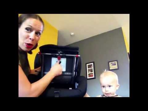 Britax Boulevard Clicktight Car Seat   Remove and Replace Cover   Funny & Informative