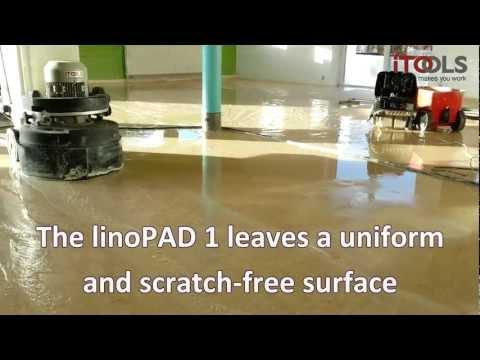 linoPAD - renovation of linoleum
