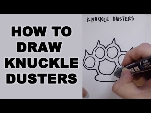 How to Draw Knuckle Dusters