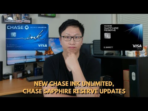 NEW Chase Ink Unlimited + CSR Priority Pass Change