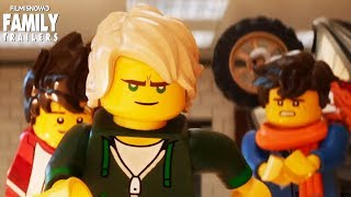 "The Lego Ninjago Movie | Oh, Hush! feat. Jeff Lewis Music Video - ""Found My Place"""