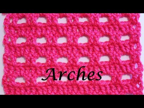 Arches Crochet Stitch