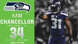 34 kam chancellor s seahawks top 100 players of 2017 nfl