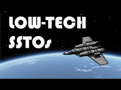 Early career stock SSTOs - Low-tech SSTOs - KSP 1.1.3