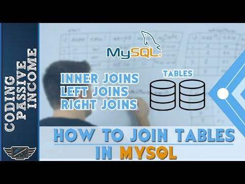 How To Join Tables in MySQL